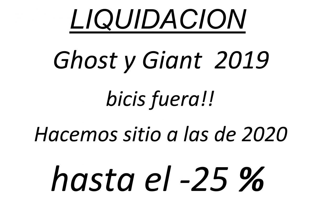 Ultimas unidades de liquidación en stock