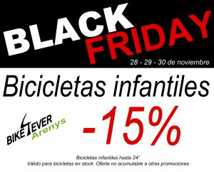 Black Friday 2019 Bike4ever Arenys